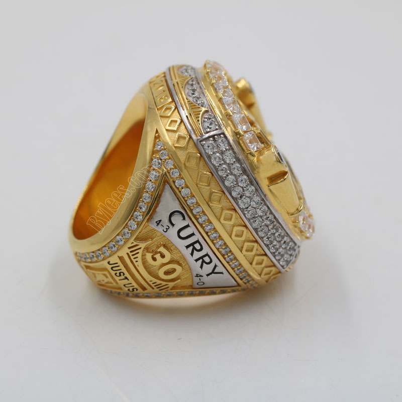 2018 Stephen Curry championship ring