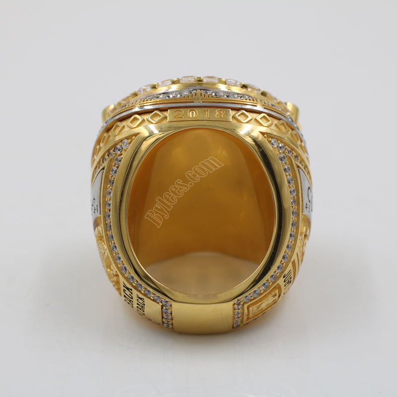 2018 warriors NBA championship ring