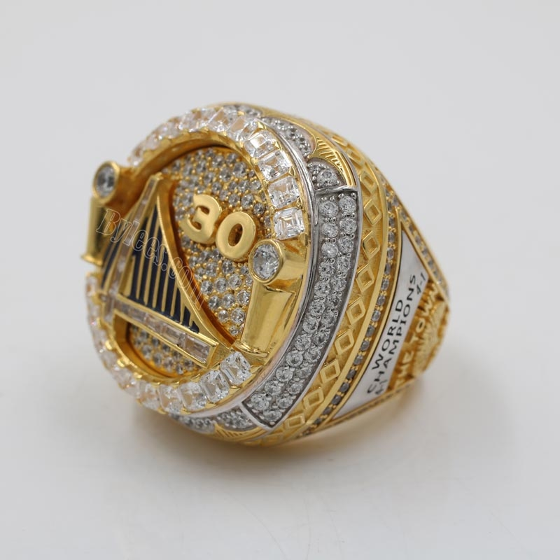 Stephen Curry 2018 NBA ring