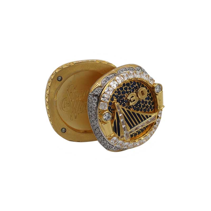 Golden State Warriors 2018 championship ring