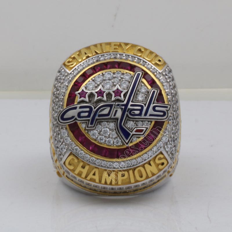 SBCRING Capitals Official 2018 Stanley Cup National Hockey League Replica Championship Ring