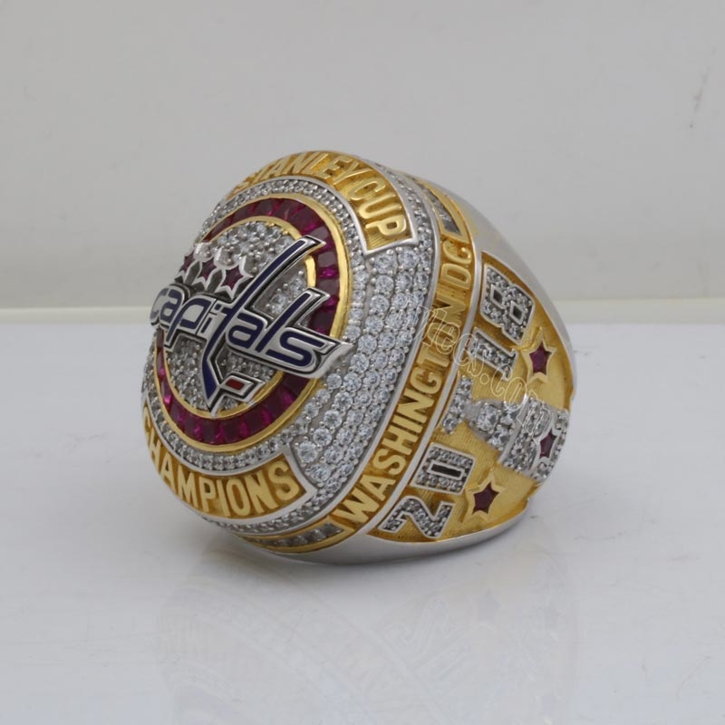 2018 Alexander Ovechkin Stanley Cup Championship Ring