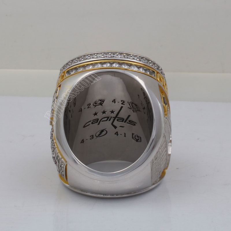 2018 Alexander Ovechkin Stanley Cup Ring