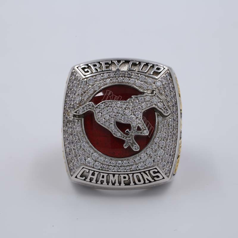 2018 Calgary Stampeders The 106th Grey Cup Championship Ring