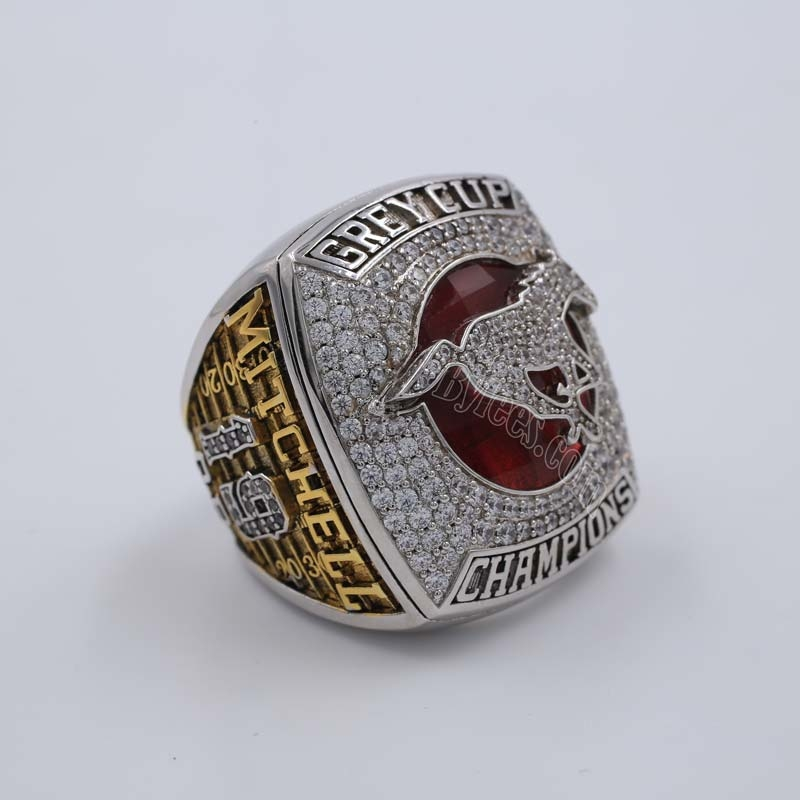 2018 grey cup championship ring