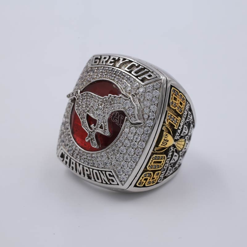 107th grey cup championship ring