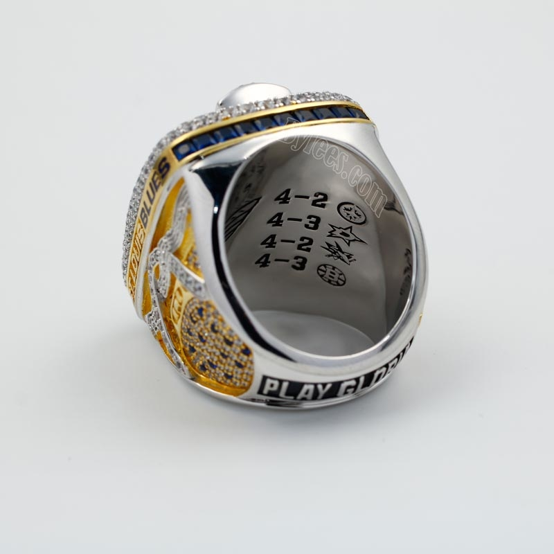 2019 NHL stanley cup ring