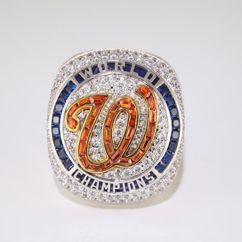 2019 MLB Washington Nationals championship ring