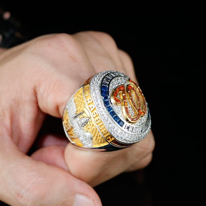 the first washington nationals world series ring