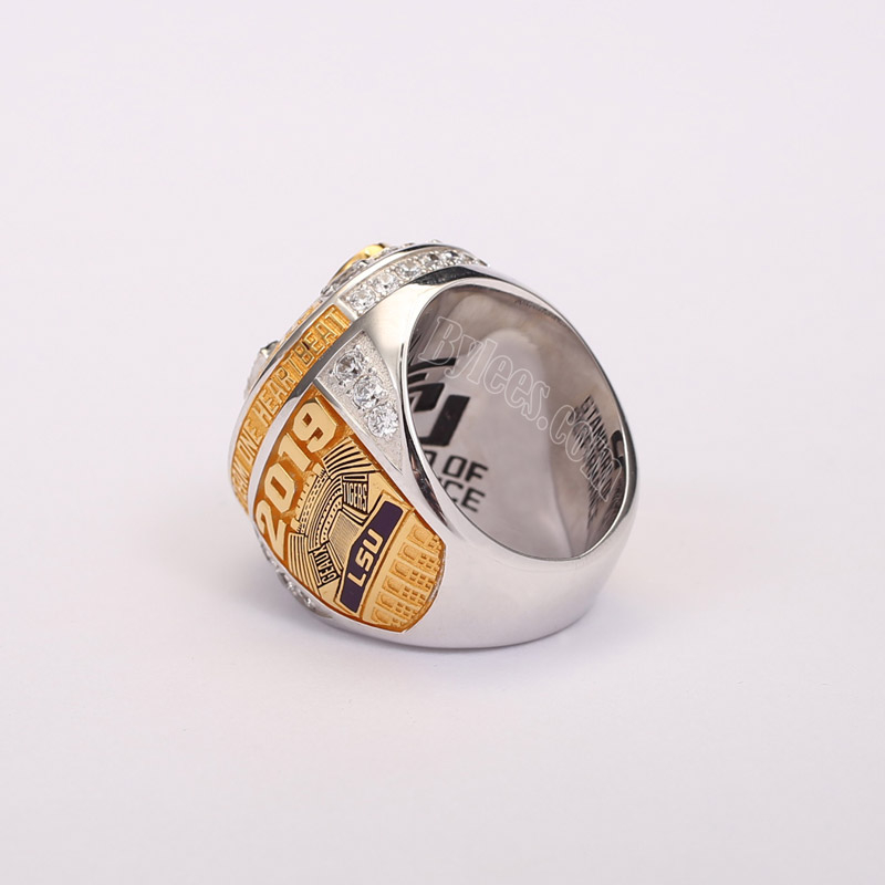 2019 LSU tigers championship ring