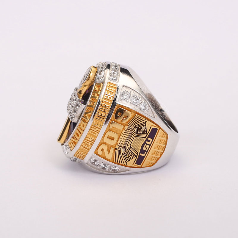 LSU tigers 2019 national championship ring