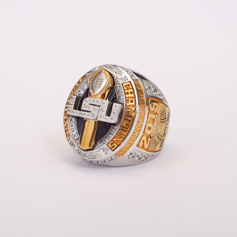 2019 LSU tigers national championship ring