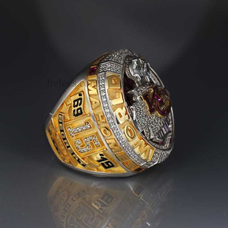 Patrick Mahomes 2019 super bowl LIV chiefs championship ring