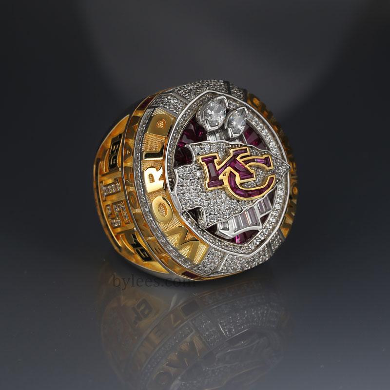 Patrick Mahomes 2019 super bowl LIV championship ring