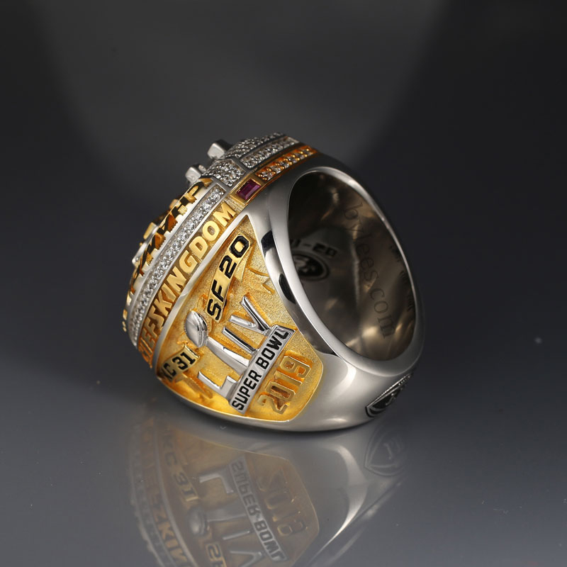 The kansas city super bowl LIV championship ring