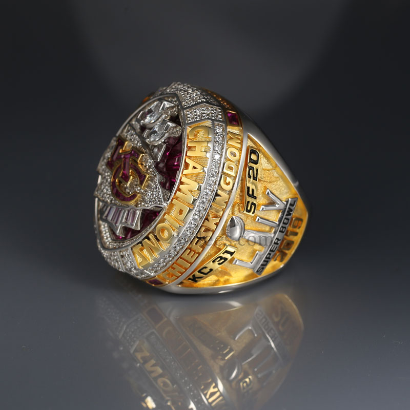 The chiefs super bowl championship ring